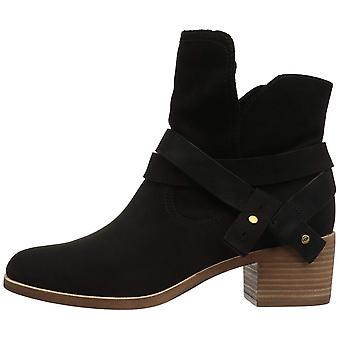 Ugg Australia Womens Elora Leather Almond Toe Ankle Fashion Boots