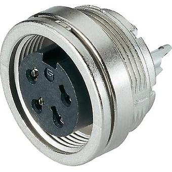 Binder 09-0324-00-06 Miniature Round Plug Connector Series 581 And 680 Nominal current (details): 5 A Number of pins: 6