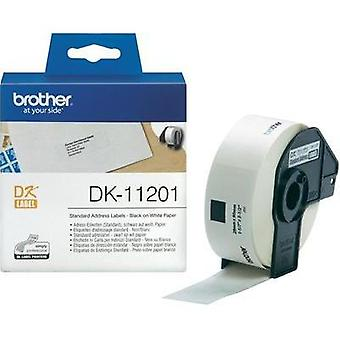 Brother Labels (roll) 90 x 29 mm Paper White 400 p