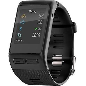GPS heat rate monitor watch with built-in sensor Garmin vivoactive HR XL Size (XS - XXL)=XL Black