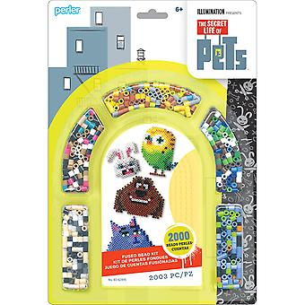 Perler Fused Bead Kit-Secret Life Of Pets 80-62995