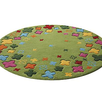 Esprit Bloom veld Rug 2980 02 Green