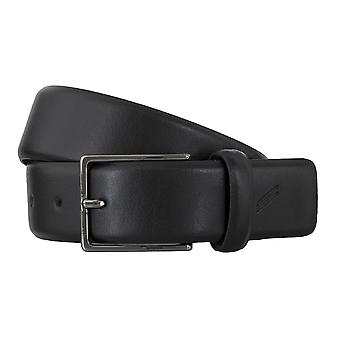 DANIEL HECHTER belts men's belts leather belt black 4853