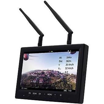 FPV screen ACME CamOne Stratos 7 5,8GHz Diversity Screen ABF