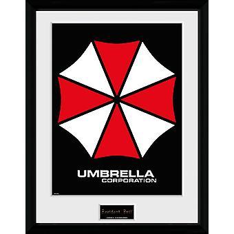 Resident Evil Umbrella Sammler Print