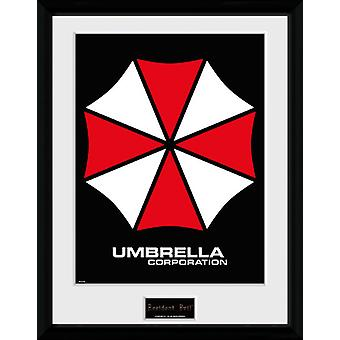 Resident Evil Umbrella Collector Print