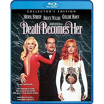 Death Becomes Her [Blu-ray] USA import