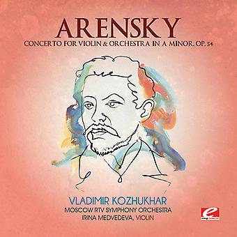 Arensky - Concerto for Violin & Orchestra in a Minor [CD] USA import