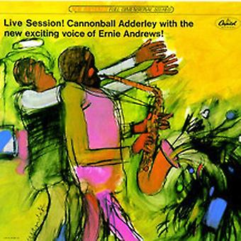 Adderley/Andrews - Live Session [CD] USA import