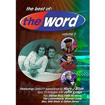 Word (TV Show): Vol. 3 - bedste viser 8-10 [DVD] USA import