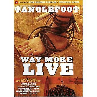 Tanglefoot - måde mere Live [DVD] USA import