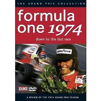 F1 anmeldelse 1974 ned til sidste omgang [DVD] USA import