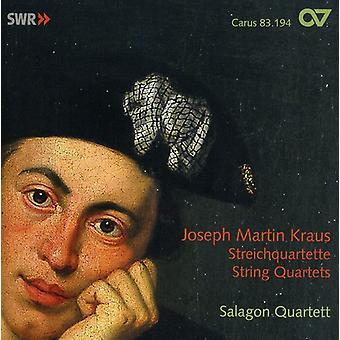 Joseph Martin Kraus - Joseph Martin Kraus: Strygekvartetter [CD] USA import