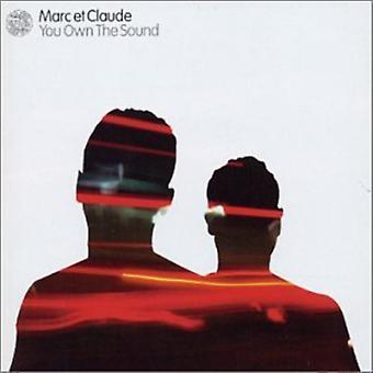 Marc Et Claude - You Own the Sound [CD] USA import