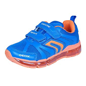 Geox J Android B Boys Trainers / Shoes - Blue