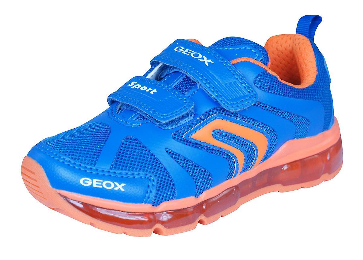 Geox J Android B garçons formateurs   chaussures - bleu