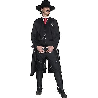 Sheriff costume DELUXE cowboy Sheriff Western costume