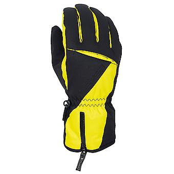 Eska Clear Ski--Winterhandschuh schwarz-gelb