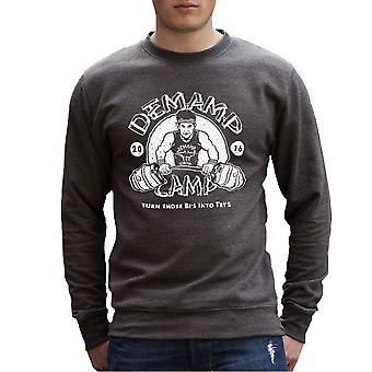 Demamp Camp Workaholics Men's Sweatshirt