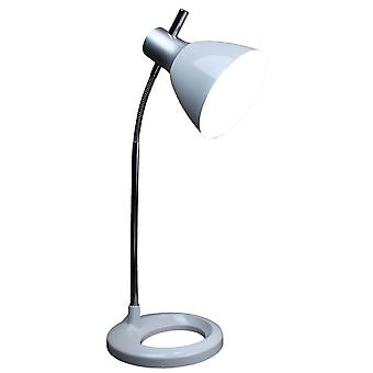 High Vision LED Reading Light - White Desk (inc. 6W bulb)