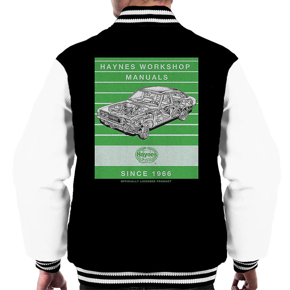 Haynes Workshop handmatige 0295 Ford MK2 Cortina 3 4 Stripe Varsity jas voor mannen