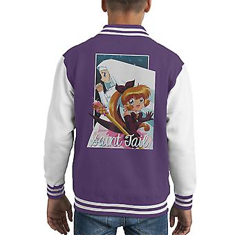 Saint staart Kid's Varsity Jacket