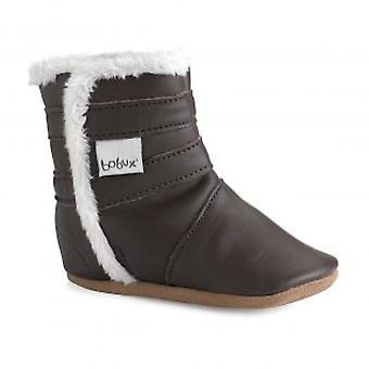 Bobux Soft Sole Winter Warmer 3975 Chocolate