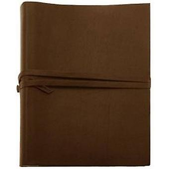 Coles Pen Company Chianti Extra Large Leather Photo Album - Chocolate