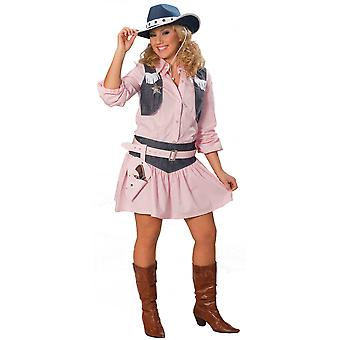 Costumi donna Ladies rosa costume Cowgirl