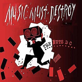 Hjulspor Dc - musik skal ødelægge [Vinyl] USA import