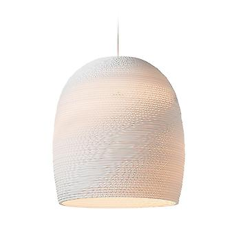 Graypants White Bell Pendant Light 16