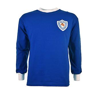 Leicester City 1960-1970s Retro Football Shirt
