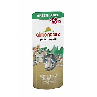 Almo nature Green Label Mini Food Filete De Pollo (Cats , Cat Food , Wet Food)