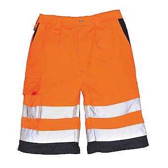 Portwest - Hi-Vis Safety Workwear Poly-cotton Shorts