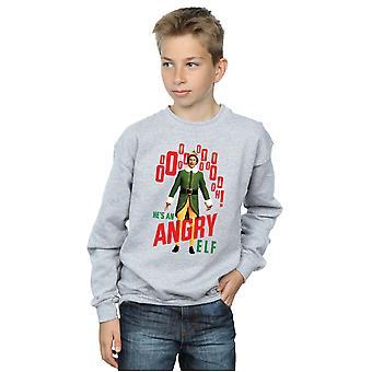 Elf Boys Angry Elf Sweatshirt