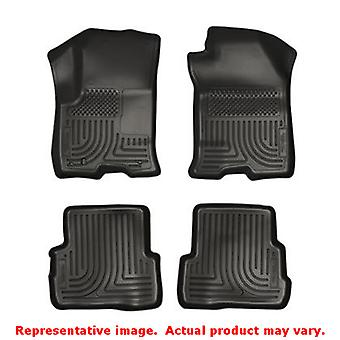 Husky Liners 98311 svart WeatherBeater Front & 2 sits passar: FORD 2008-2011 F