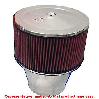 K&N Universal Filter - Velocity Stack Filters 58-1191 5-1/8in Flange x 10inHin