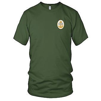 US Marine US Marine chef crête retour brodé Patch - Ladies T-Shirt