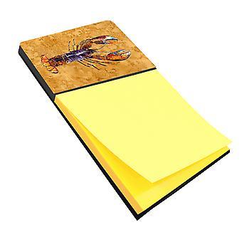 Aragosta Refiillable note di Sticky Note titolare o Postit nota Dispenser