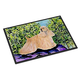 Каролинских сокровища SS8668MAT кокер спаниель Крытый Открытый мат 18 x 27 Коврик