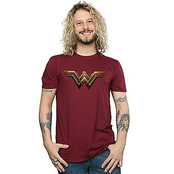 DC Comics Men's Justice League Movie Wonder Woman Emblem T-Shirt