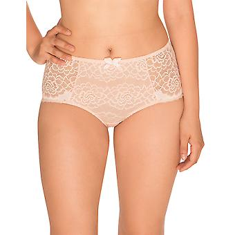 Sans Complexe 613904 Women's Byzance Powder Pink Floral Lace Full Panty Highwaist Brief