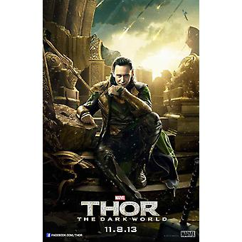Thor The Dark World Movie Poster (11 x 17)