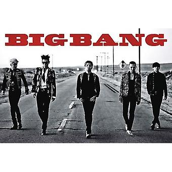 Big Bang Gang Walking Poster Poster Print