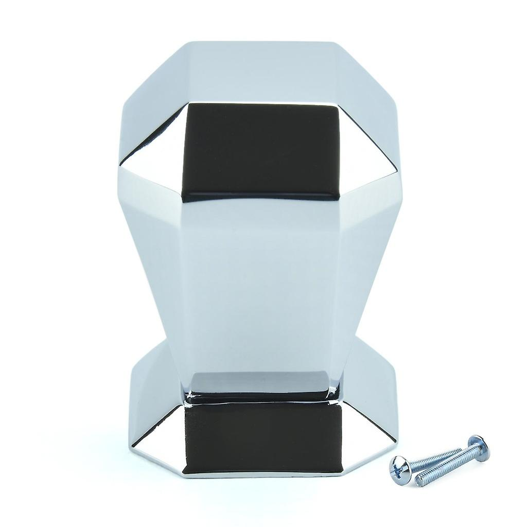 M4TEC Interior Kitchen Cabinet Door Knobs Cupboards Drawers Bedroom Furniture Pull Handles Polished Chrome. H8 series