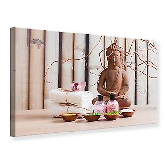 Canvas Print Buddha & Wellness