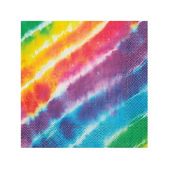 Tie Dye Lunch napkins