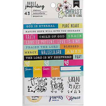 American Crafts Bible Journaling Stickers 4