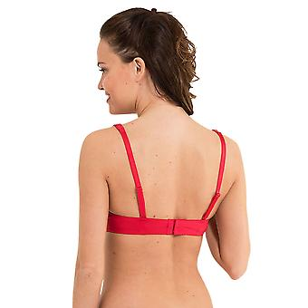 LingaDore 1400-2-5 Women's Daily Lace Red Padded Underwired Balcony Bra
