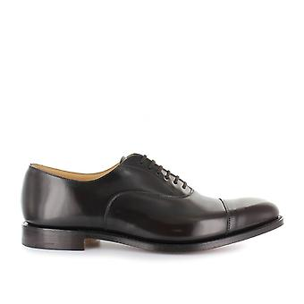 Church's men's EEB0179XVF0AMA Braun leather lace-up shoes